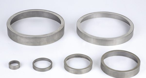 Deep drawn stamping ring for motor