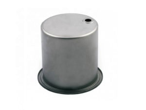 Aluminum deep drawing cap